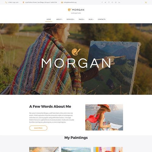 Personal Website Templates