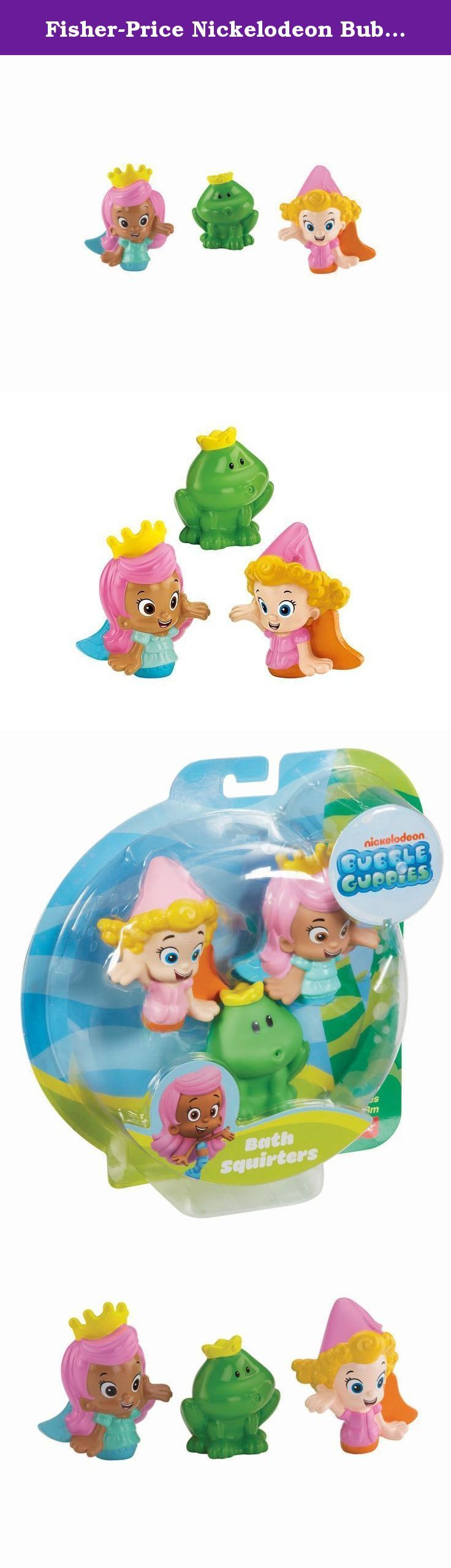 Fisher-Price Nickelodeon Bubble Guppies Molly, Deema and Frog Bath ...