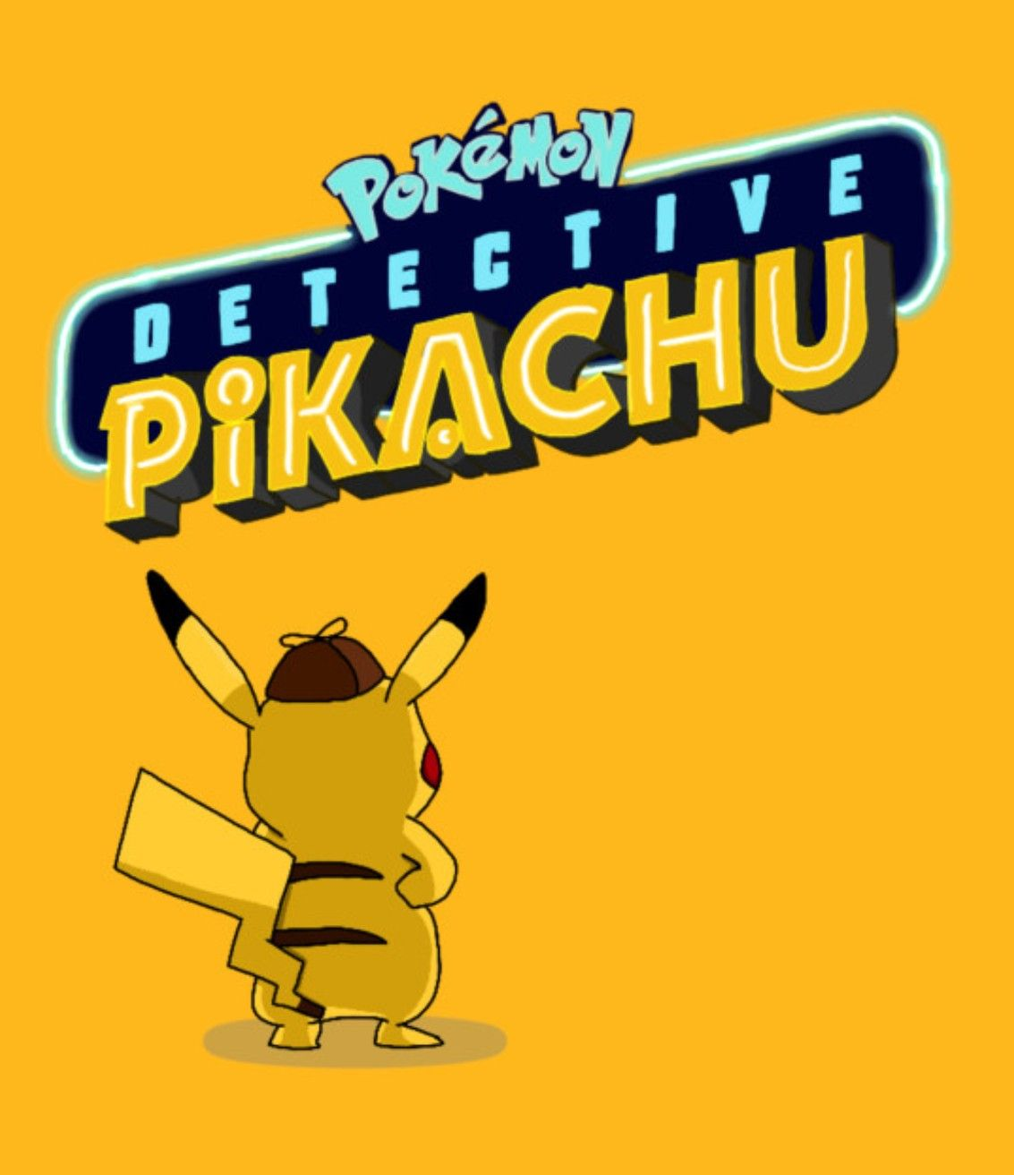 "Pokemon Detective Pikachu Poster Movie Art Film Print 11x17/"" 14x21/"" 24x36/"" 27x40"