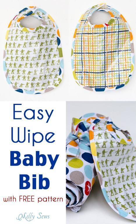 Free Baby Patterns for Bibs, Burp Cloths, Blankets & More | Bebe