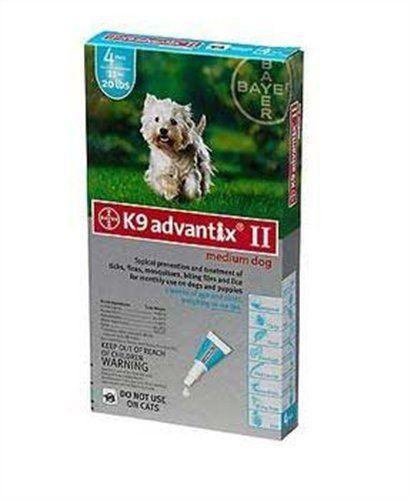 Bayer K9 Advantix Ii 11 20 Lbs Teal 4 Month Supply Review Http Www Bestfleamedicinefordogs Com Flea Tick Spot Fleas Dogs