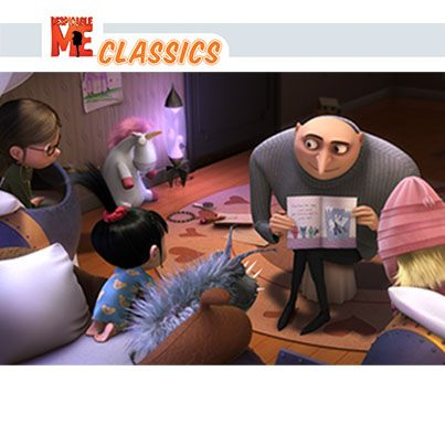 And Now He Knows He Could Never Part From Those Three Little Kittens That Changed His Heart Gru Despicable Me Cartoon Crazy Minion Movie