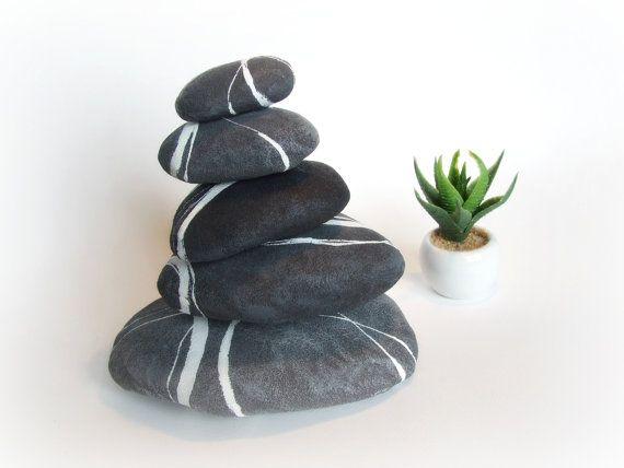 Stones Tower Rock Cairn Stacked Rock Piles Zen Garden