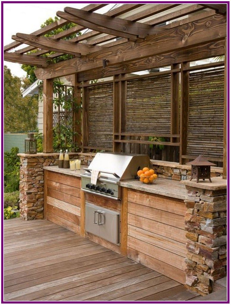 27 Best And Cheapest Wood Pallet Recycling Ideas Aoneperfume Rustic Outdoor Kitchens Outdoor Kitchen Outdoor Kitchen Design