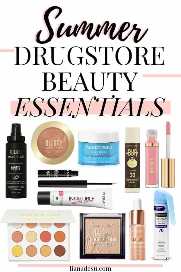 Summer Drugstore Beauty Essentials - #Beauty #drugstore #Essentials #Summer #beautyessentials