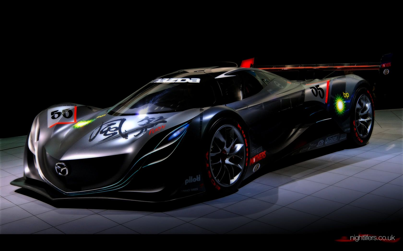 Mazda Furai At Night Wallpaper 7 1680x1050