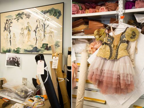 Hand-painted watercolor costumes for George Balanchineu0027s  A Midsummer Nightu0027s Dream  ballet production & The Making of the A Midsummer Nightu0027s Dream Ballet Costumes ...