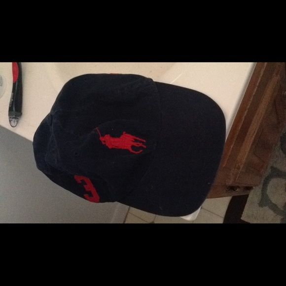 Polo Hat Never Worn, Has A Slight Distressed Look To It. $27 Free Ship On Ⓜ️erc Polo by Ralph Lauren Accessories Hats