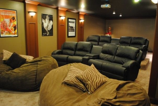 Superb Bean Bag Filler In Home Theater Traditional With Ikea