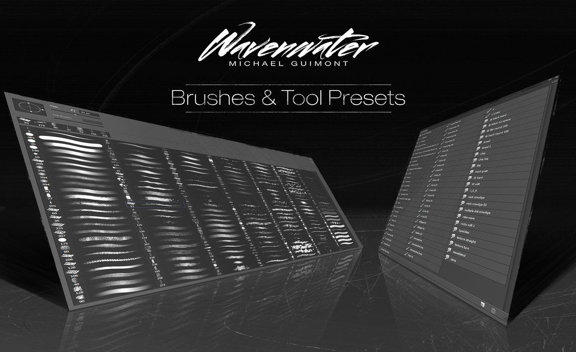 Wavenwater Brushes n Tools Presets by wavenwater on DeviantArt ...