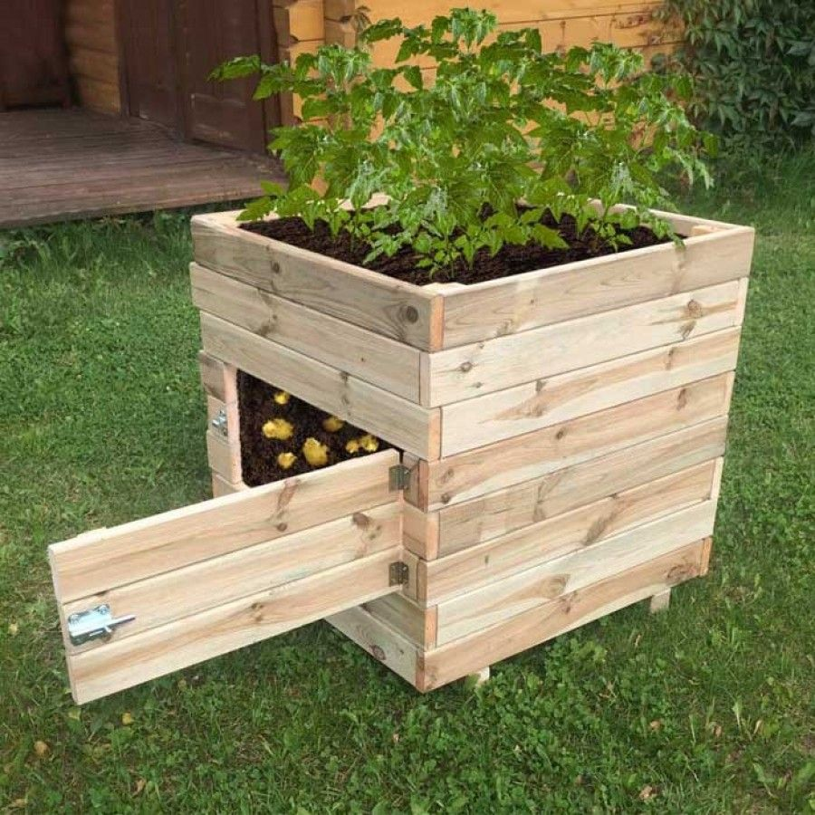 Zest 4 Leisure Square Potato Planter Charlies Direct