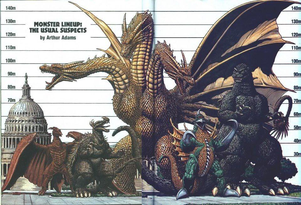 Big monsters Sci Fi Godzilla wallpaper, Godzilla, Giant monster