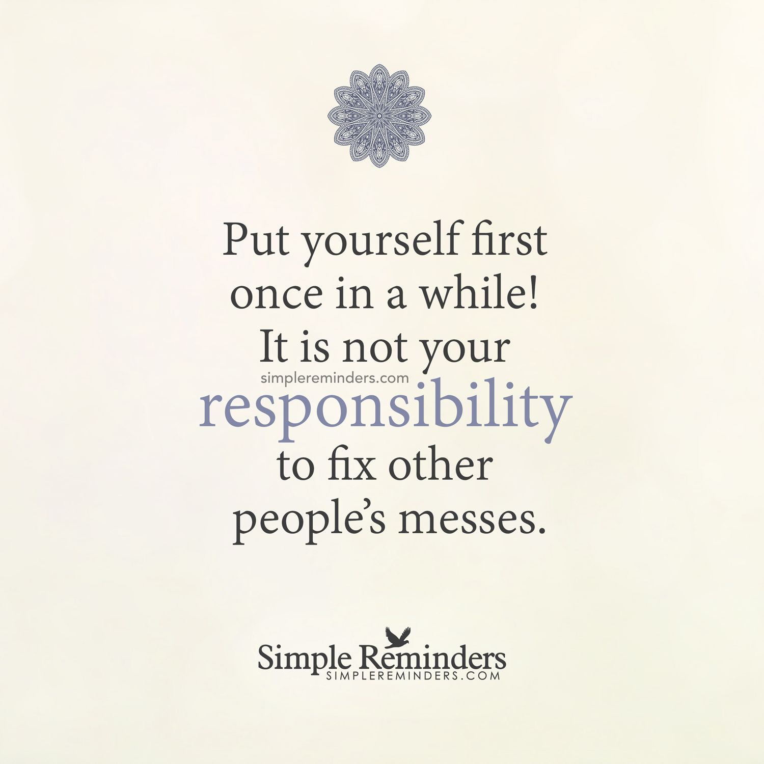 putting yourself first in a relationship