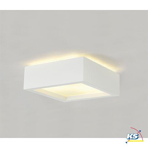 Ks Leuchten gips deckenleuchte gl 104 e27 weiß ks licht onlineshop leuchten