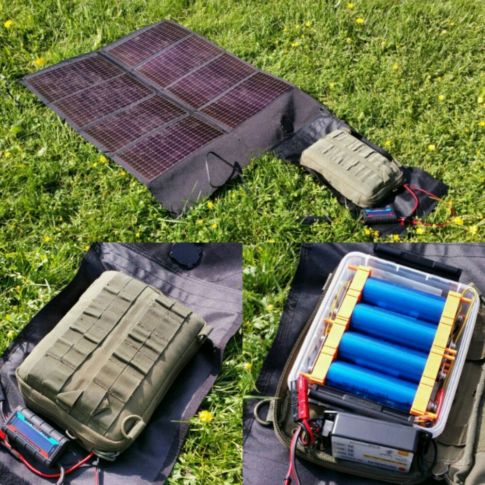 Solar Battery Power For Ham Radio Introduction To Portable Off Grid Power Off Grid Power Portable Ham Radio Ham Radio