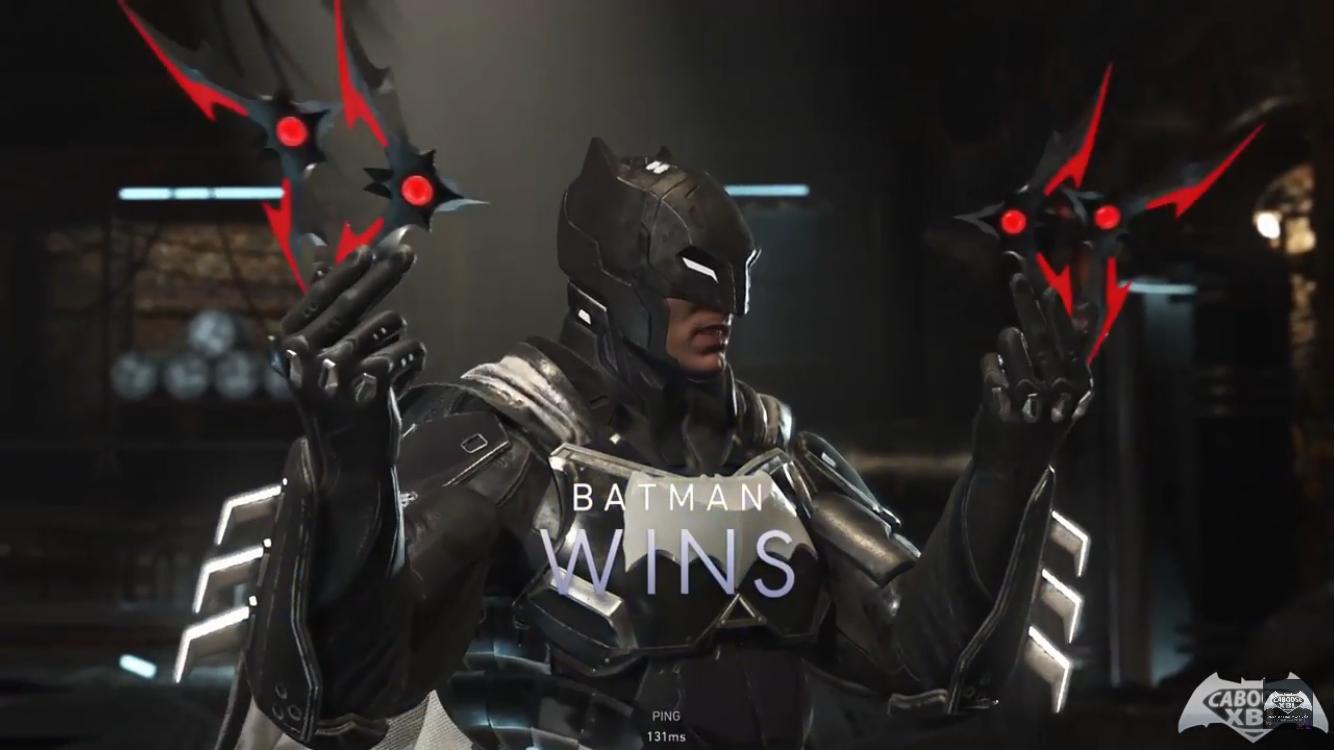 Batman Noir Shader Wins Pose Injustice 2 Batman Ajin Anime Injustice