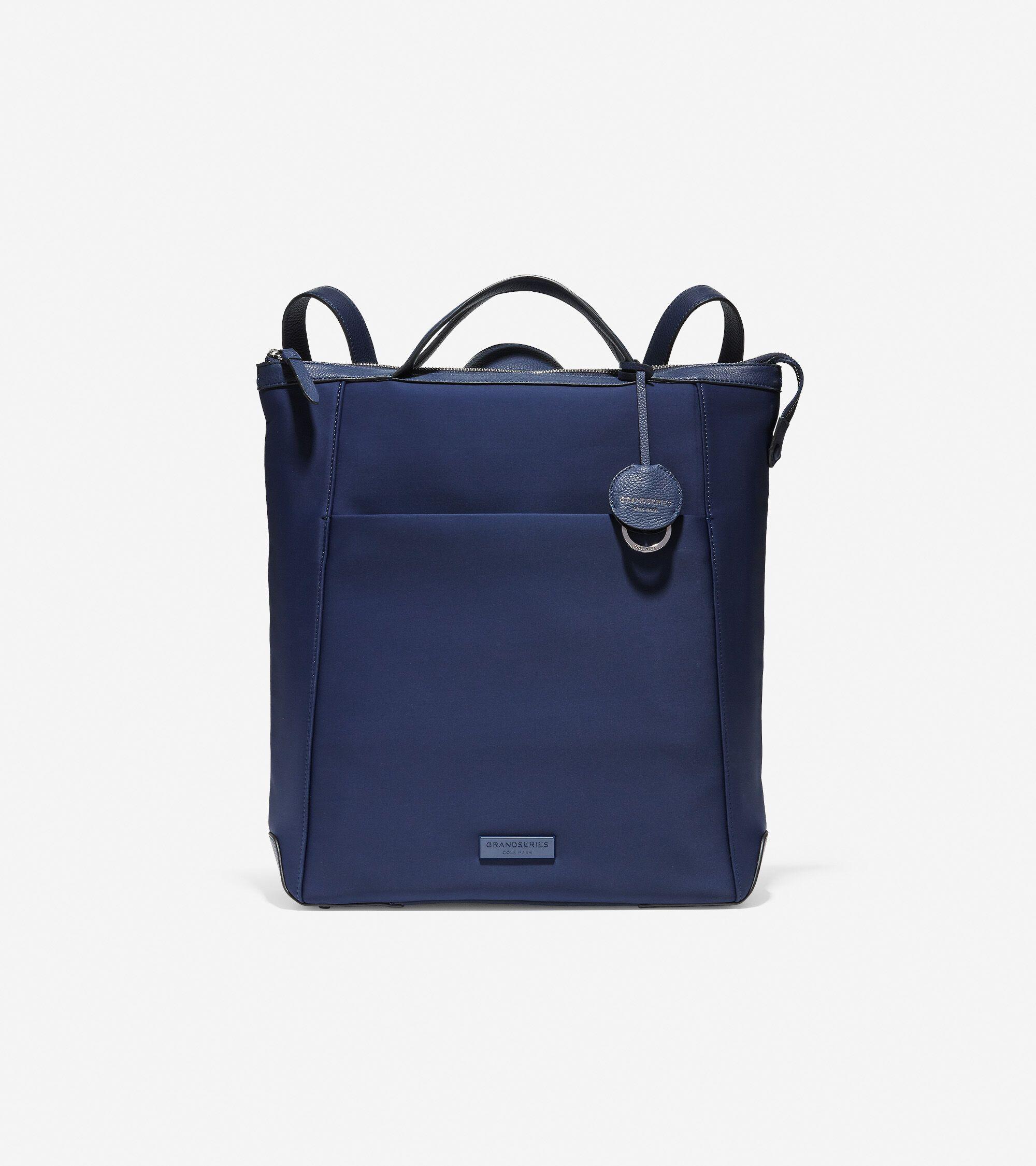 Cole Haan Slim Briefcase Laptop Bag Black Leather