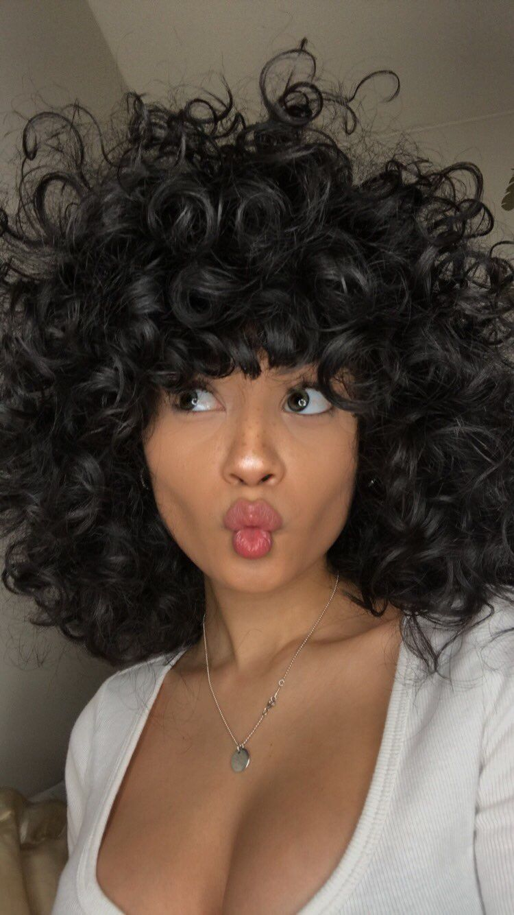 Pin by love it on them curls thoo in pinterest hair curly