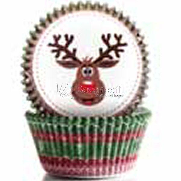 Cápsulas Repostería Navidad Ibili - Bazartextil.com