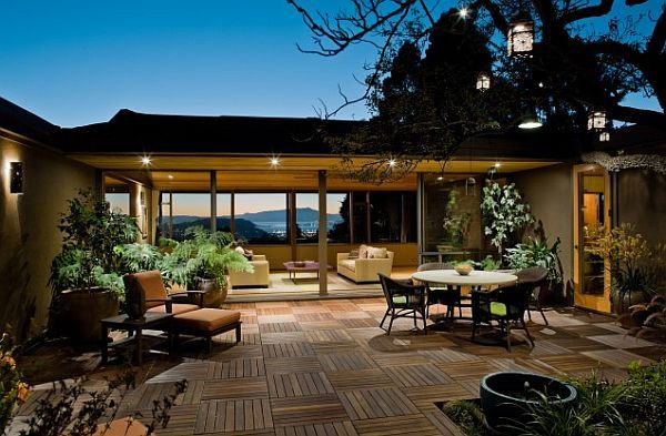 stunning unique decks 16 inspirational ideas - Courtyard Design Ideas