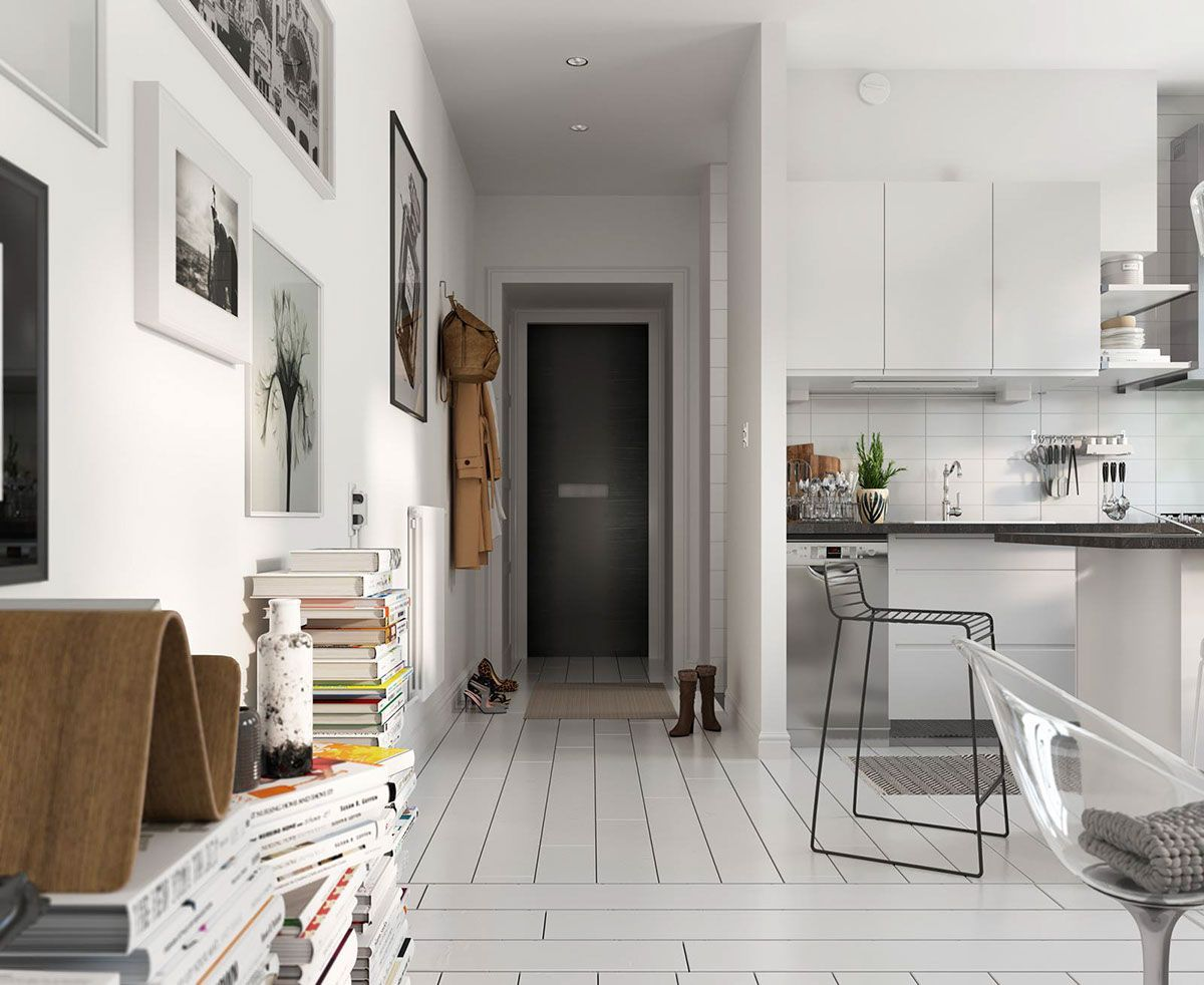 Best Bright Scandinavian Decor In 3 Small One Bedroom 400 x 300