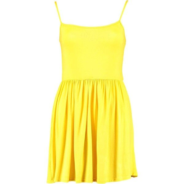 0f0e87e80384 Petite Khloe Strappy Swing Dress (4.29 AUD) ❤ liked on Polyvore featuring  dresses