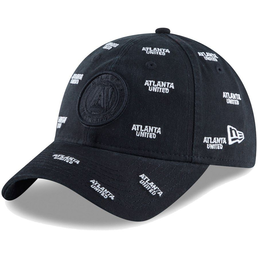 timeless design d5232 c5915 Women s Atlanta United FC New Era Black Logo Scatter 9TWENTY Adjustable Hat,  Your Price