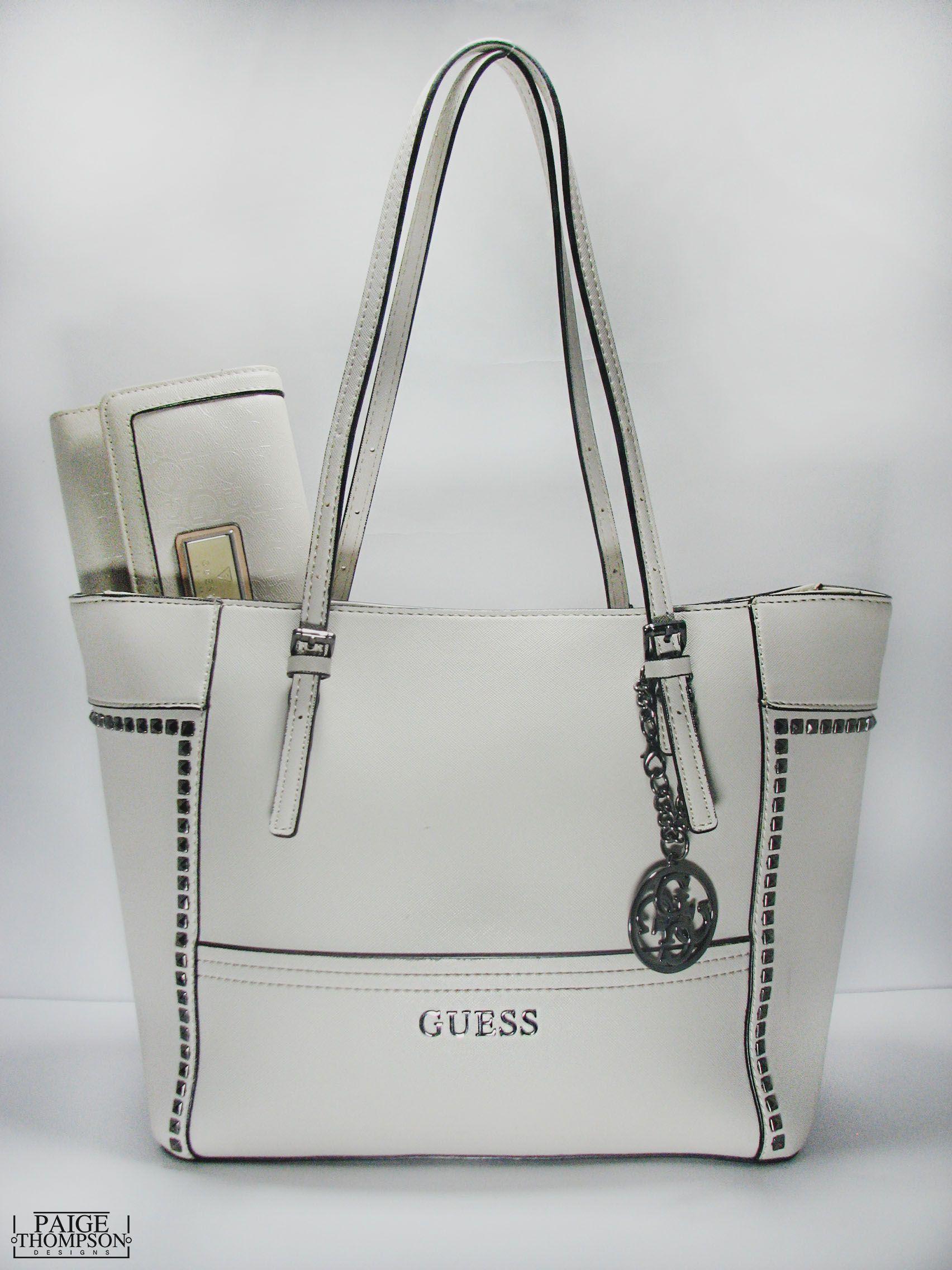 Guess Handbag & matching Wallet   tasne i