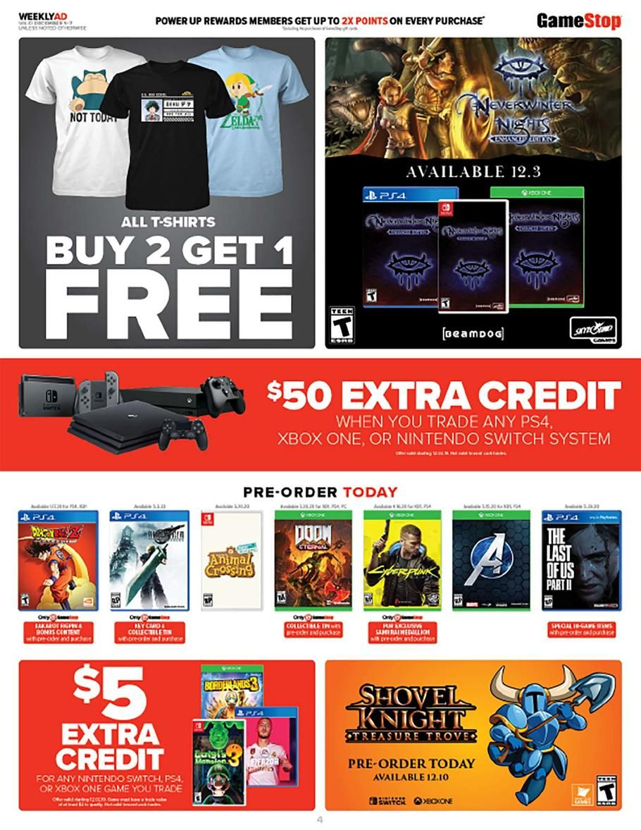 Gamestop Cyber Monday Ad Scan Deals And Sales 2019 Cyber Monday Ads Cyber Monday Cyber