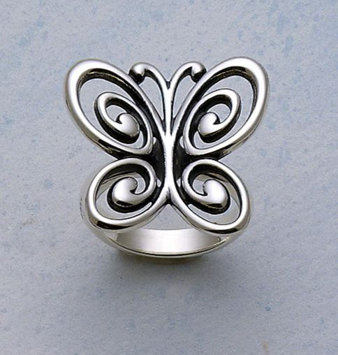 Abounding Spring Butterfly Ring Jamesavery Gifts For