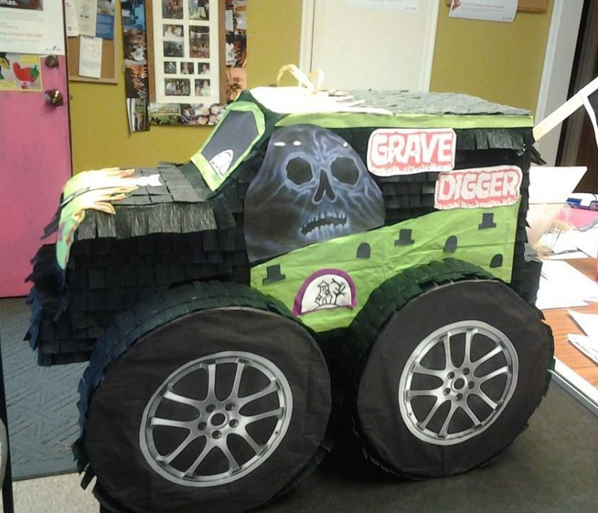 Monster Truck Pinata Orders Your Today At Www Mycasagmc