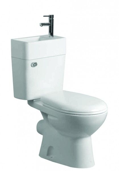 Arley P2 Softclose Close Coupled 2 In 1 Toilet Basin 2in1
