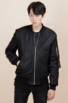 Redhomme Synthetic Leather Blouson JacketYou