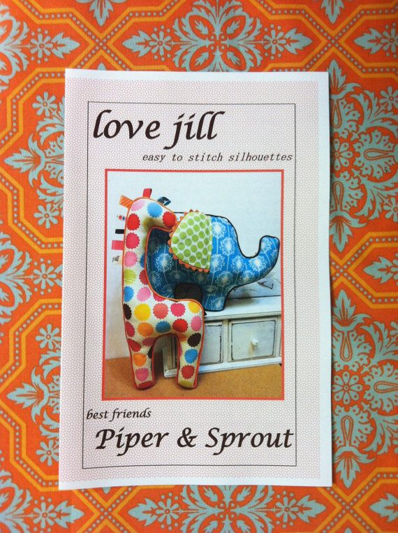 Pattern by lovejill  Piper and Sprout Elephant and by lovejill, $12.00