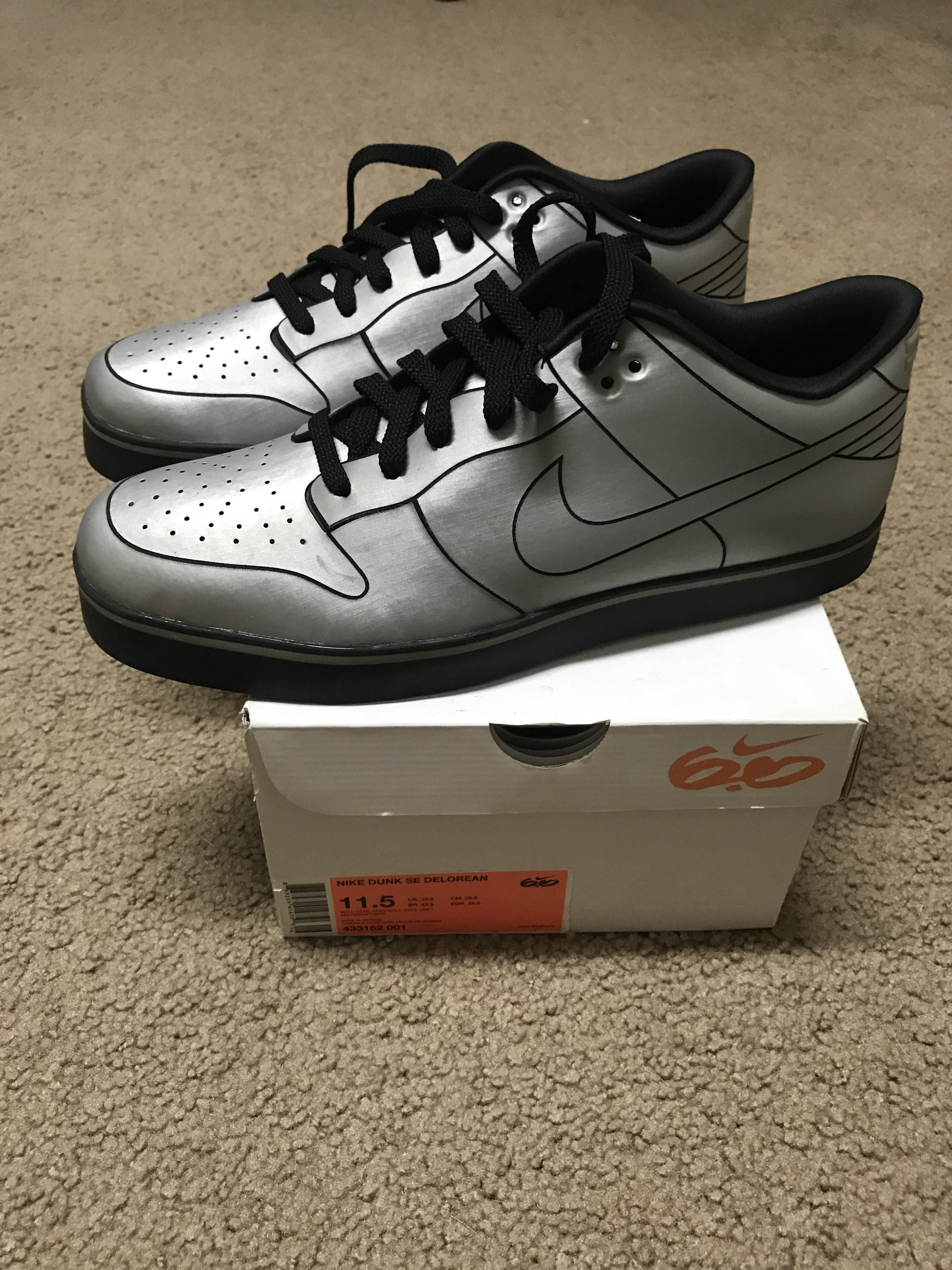 sports shoes dde52 358c2 ... italy ds nike dunk de delorean. whats your opinion on these 4b938 fae78