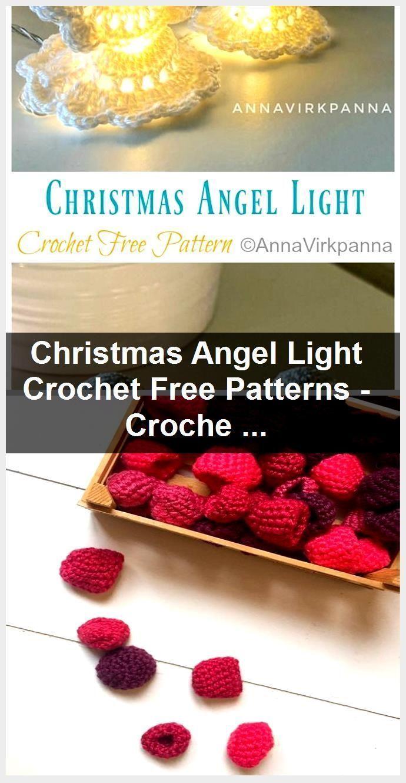 Photo of Christmas Angel Light Crochet Kostenlose Muster – Häkeln & Stricken – – #Angel …