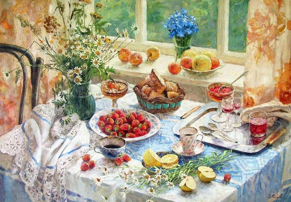 картинки старинные доброе утро завтрак также