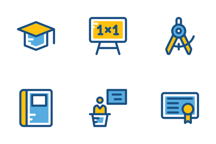 Download School And Education Icons Icon Pack Available In Svg Png Eps Ai Icon Fonts Education Icon School Icon Icon