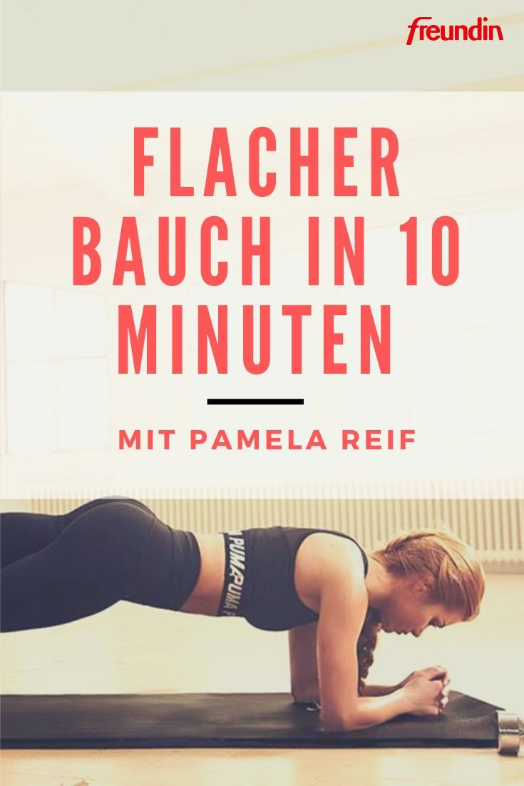 Photo of Flat stomach in 10 minutes with Pamela Reif