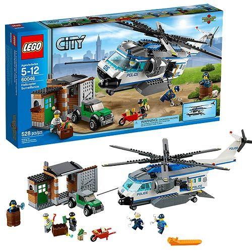Lego City 60046 Helicopter Surveillance Lego City Legos And Lego Lego