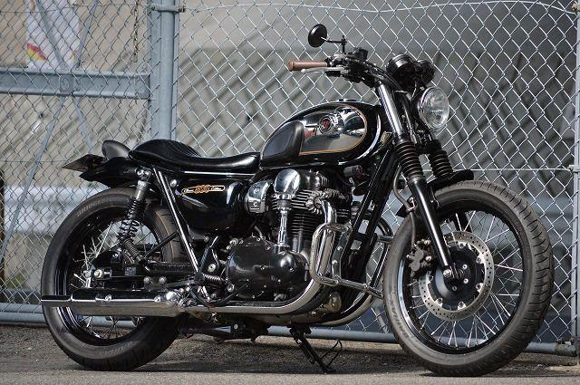 Hell Kustom Kawasaki W800 By An Bu