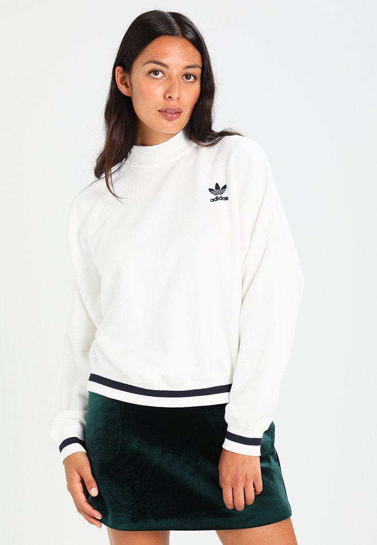 a25aae5e4 Bluza - core white | zakupy | Adidas, Adidas originals i Sweatshirts