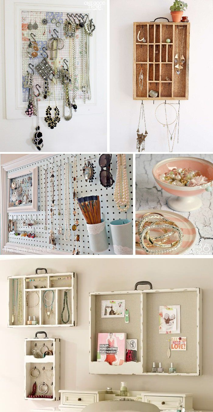 18 Ideas to Organize Your Bling | Crazy houses, Organizing and Bling
