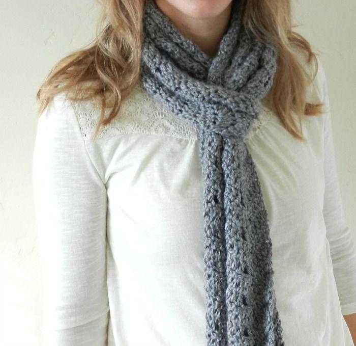 Crochet Chevron Scarf Pattern Elise Engh Studios Chevron Scarves