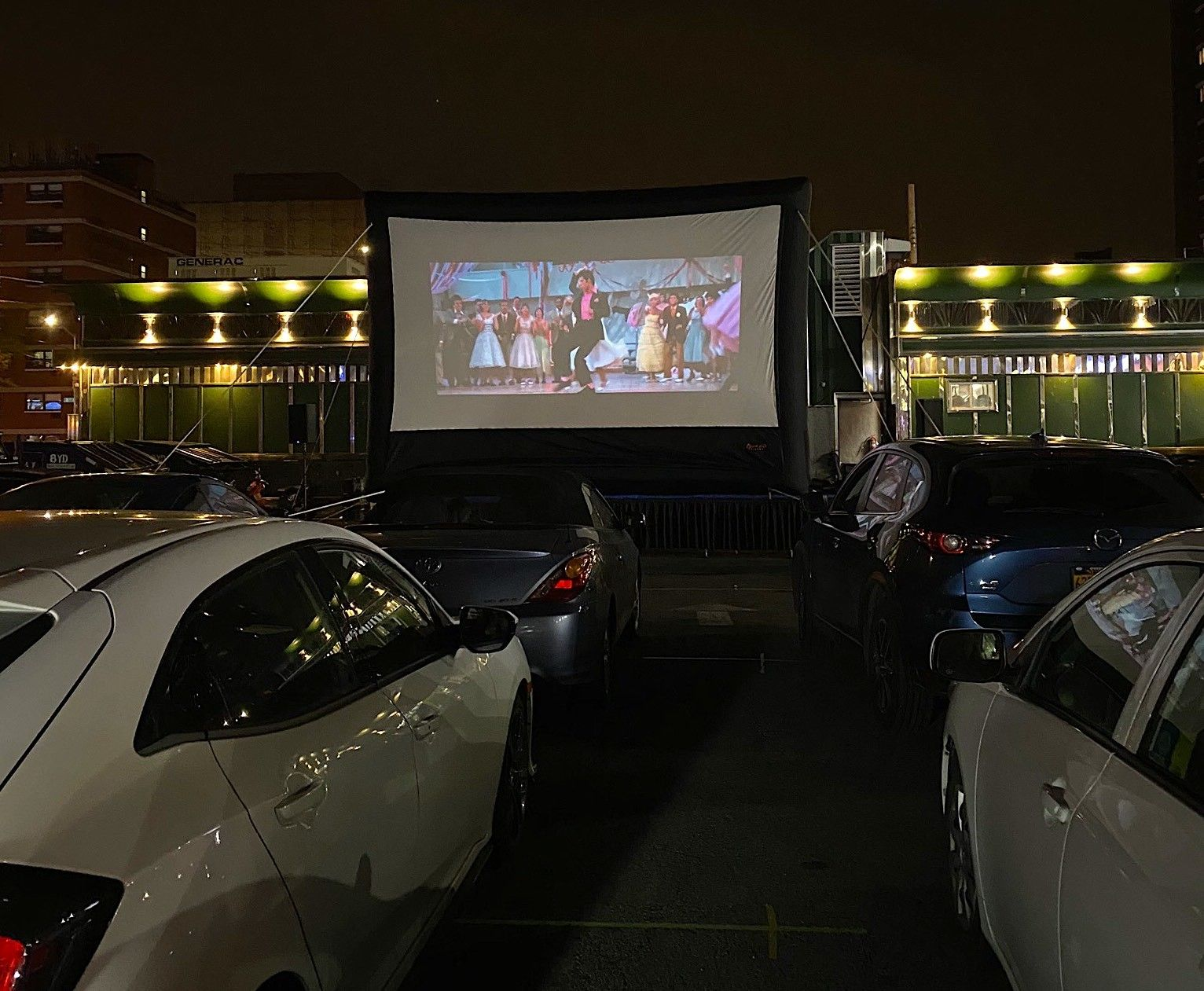 This queens diner has transformed into a retro drivein