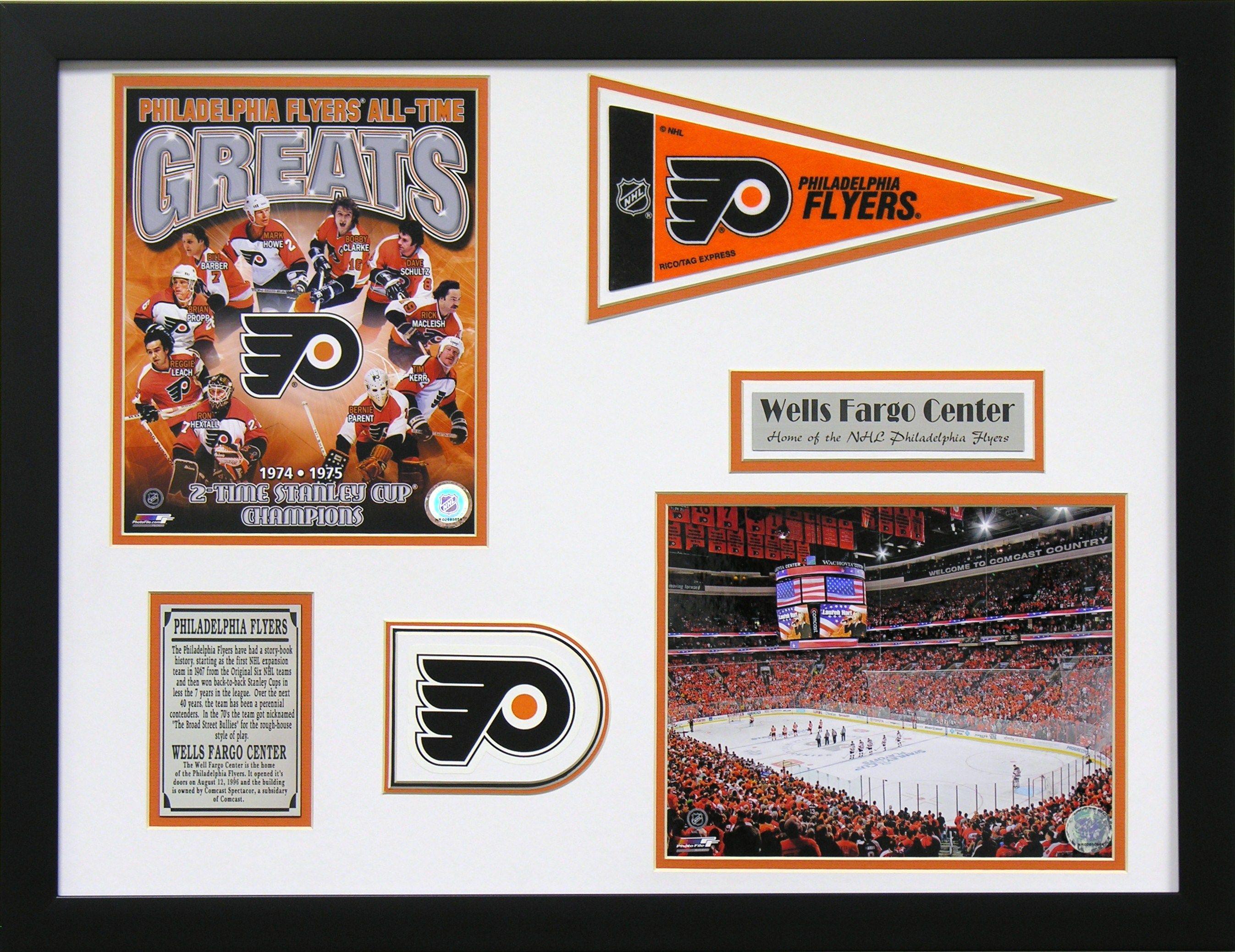 By The Bleachers Philadelphia Flyers Wells Fargo Center Framed Wall Art