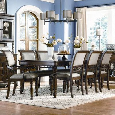 Legacy Classic Furniture Thornhill 9 Piece Dining Set  Decor Fascinating 9 Piece Dining Room Decorating Design