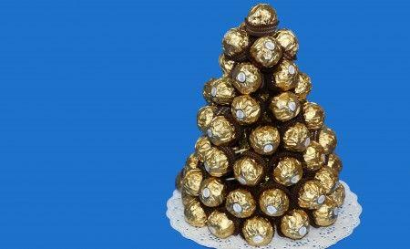 pirámide Ferrero Rocher
