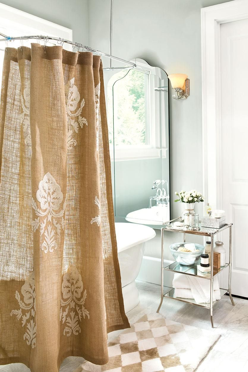 5 Ways To Decorate With Mirrors How To Decorate Shower Curtain
