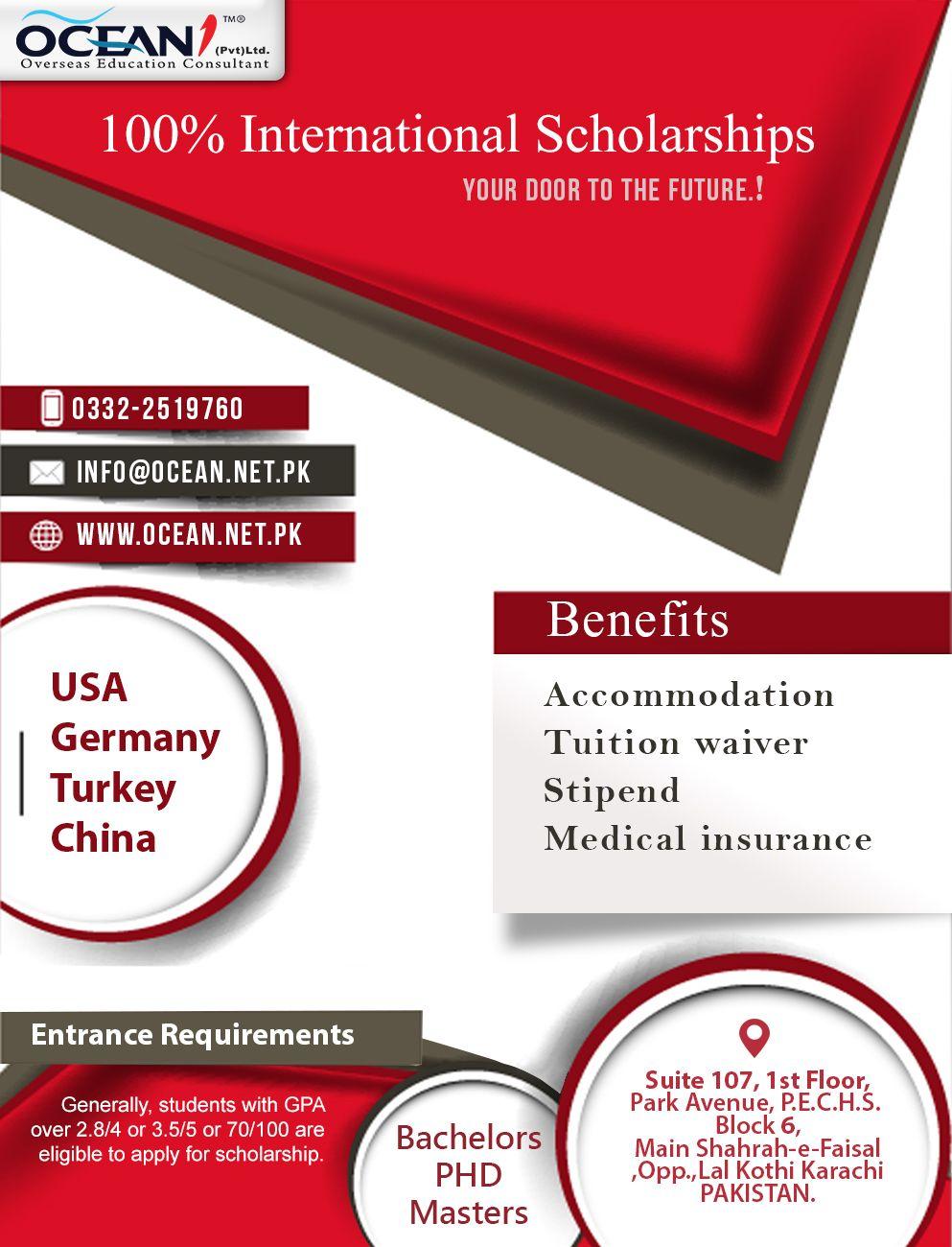 Pin By Ocean1pvtltd On Overseas Education International Scholarships Educational Consultant Overseas Education